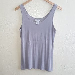 Chico's Traverlers gray tank top